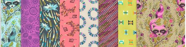 Acacia Fabrics from Tula Pink