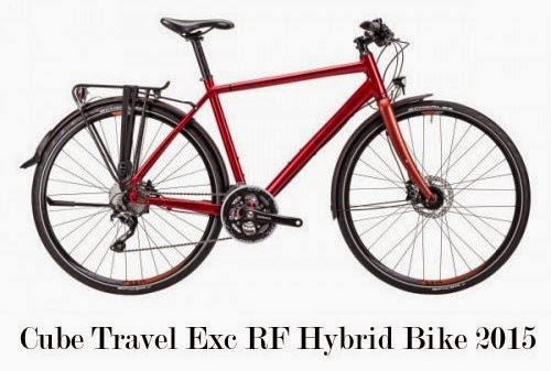 Cube Travel Exc RF Hybrid Bike 2015
