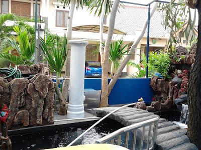 Filter Air Kolam Ikan Koi di Bekasi