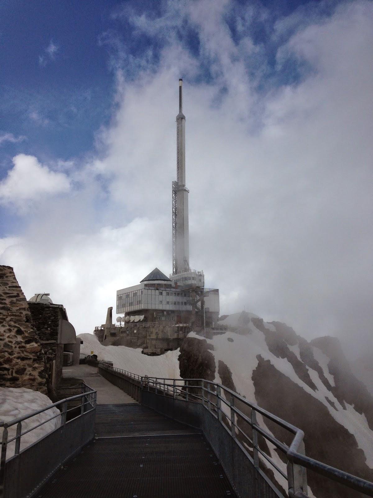 Observatorio y hotel Pic du Midi