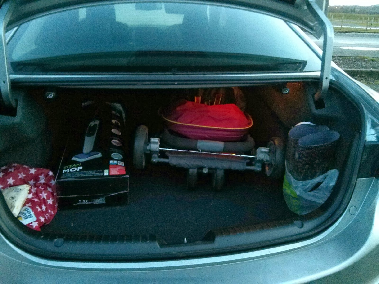 Graco Evo Mini in boot