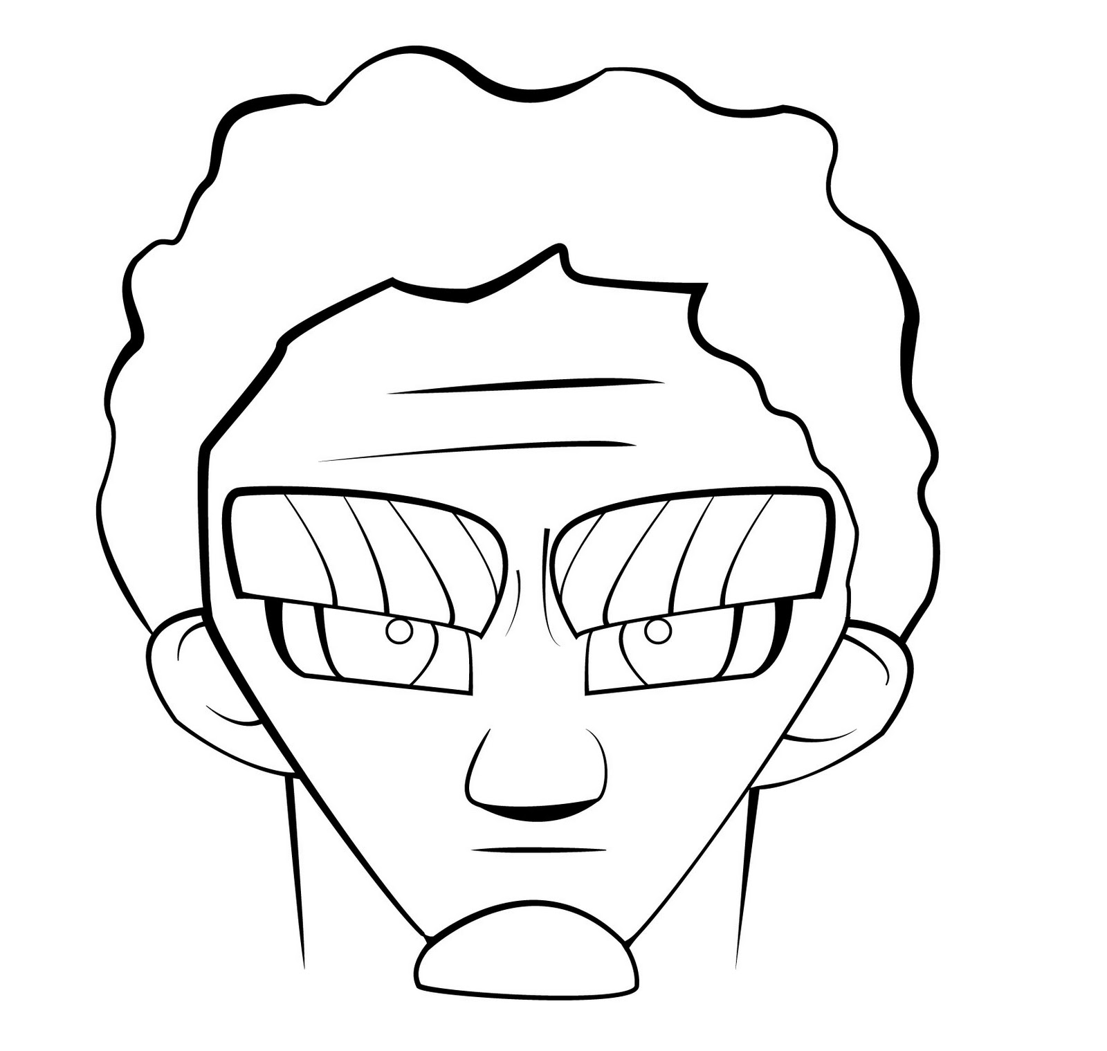 u0026quot shamal artist blog u0026quot   cartoon face i did with adobe