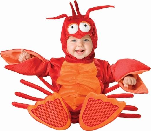 Infant Unisex Baby Lobster Costume