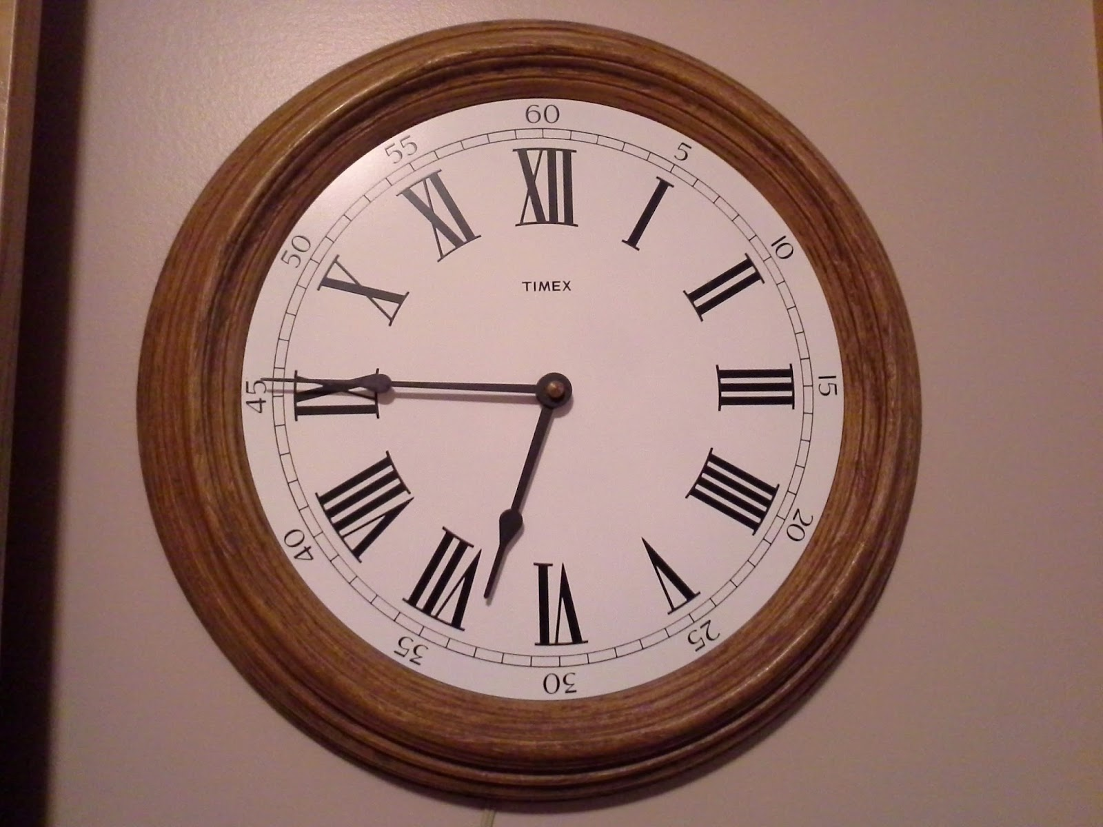 The Daily Dose Of Deana Roman Numeral Clock Discovery