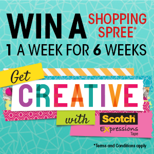 Get Creative and be in to win!