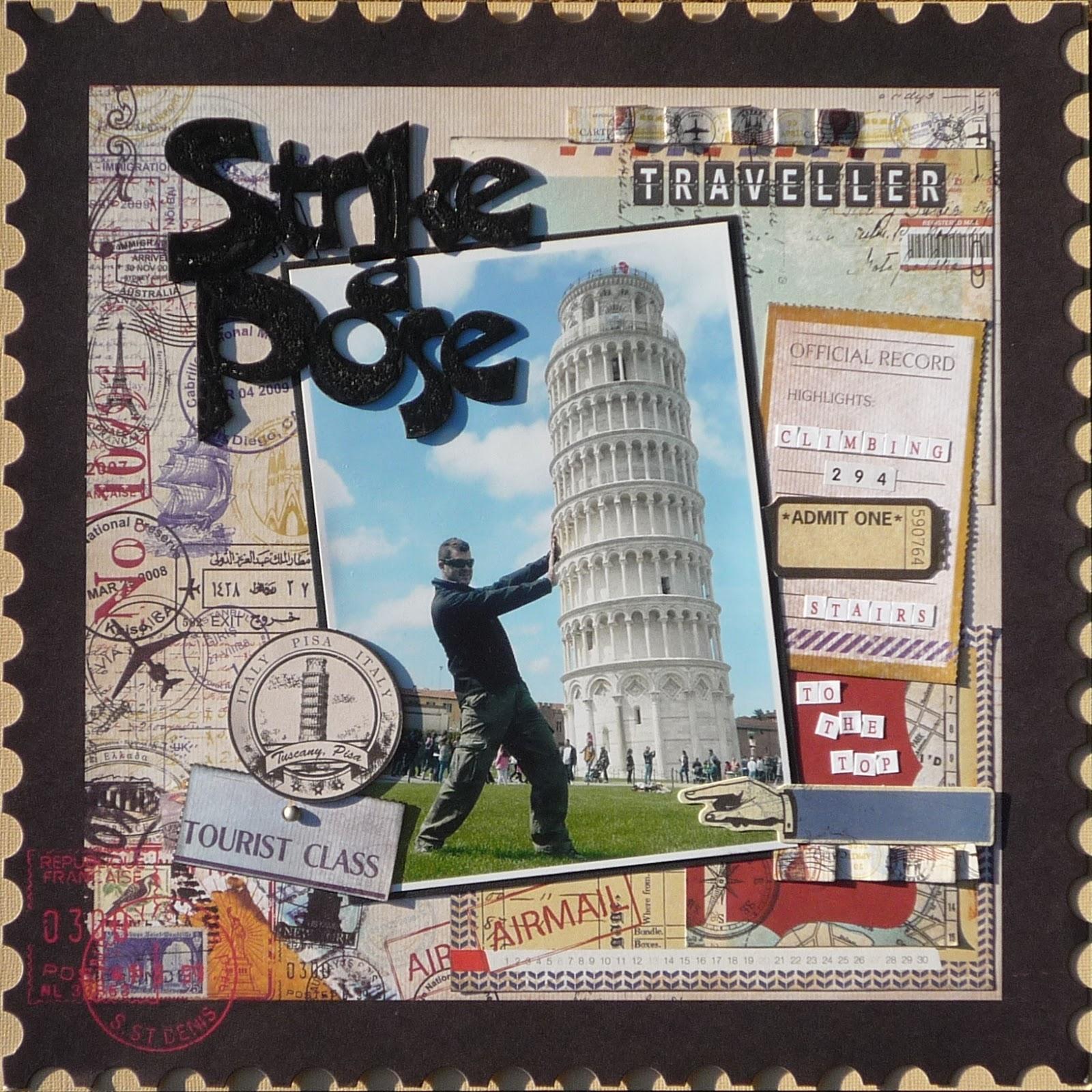 Europe scrapbook ideas - Monica S Scrapbooking Corner
