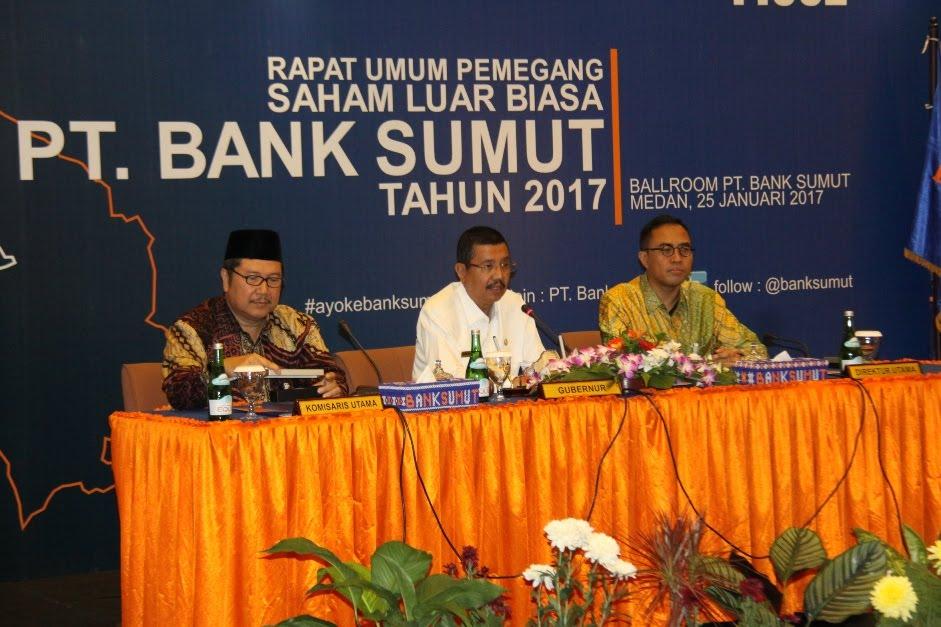 Gubsu Minta Kinerja Direksi PT Bank Sumut Lebih Kompak Demi Kemajuan