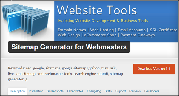 Sitemap Generator for Webmasters