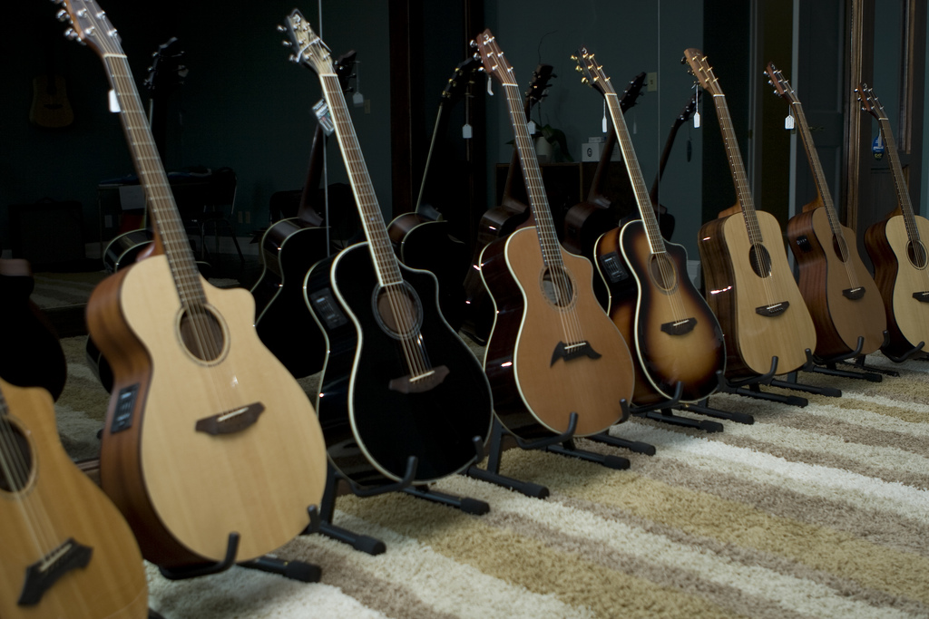 Guitar Bender: Playing All 12 Major Chords Using The B-chord Form