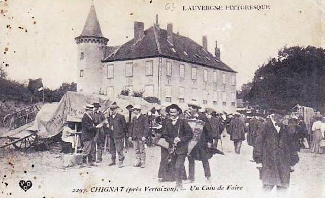 Foire de Chignat, Puy-de-Dôme.