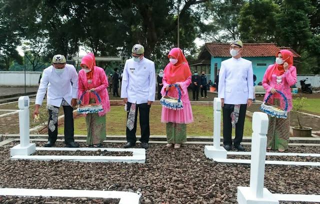 Ziarah dalam rangka HUT Ke-73 Tahun Kabupaten Subang