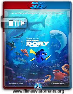Procurando Dory Torrent – BluRay Rip 1080p 3D HSBS Dual Áudio 5.1 (2016)