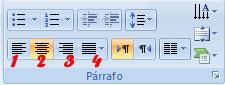 Formato de párrafo Powerpoint 2007