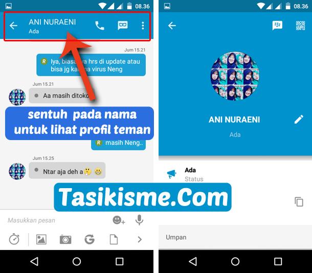 Cara Delete Contact Di Bbm Terbaru Dan Melihat Profile Teman Bbm