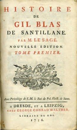 1756 HISTOIRE GIL BLAS DE SANTILLANA