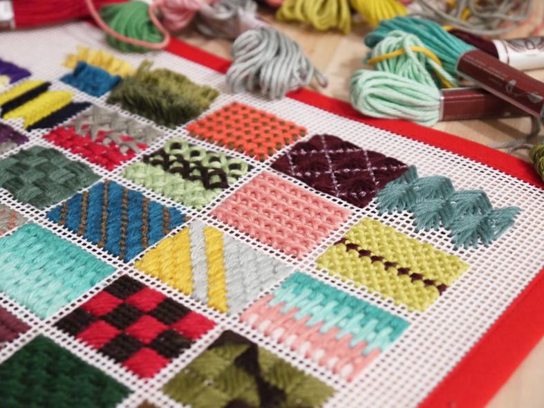 Domingo de invierno marzo 2012 - Como hacer alfombras de nudos ...