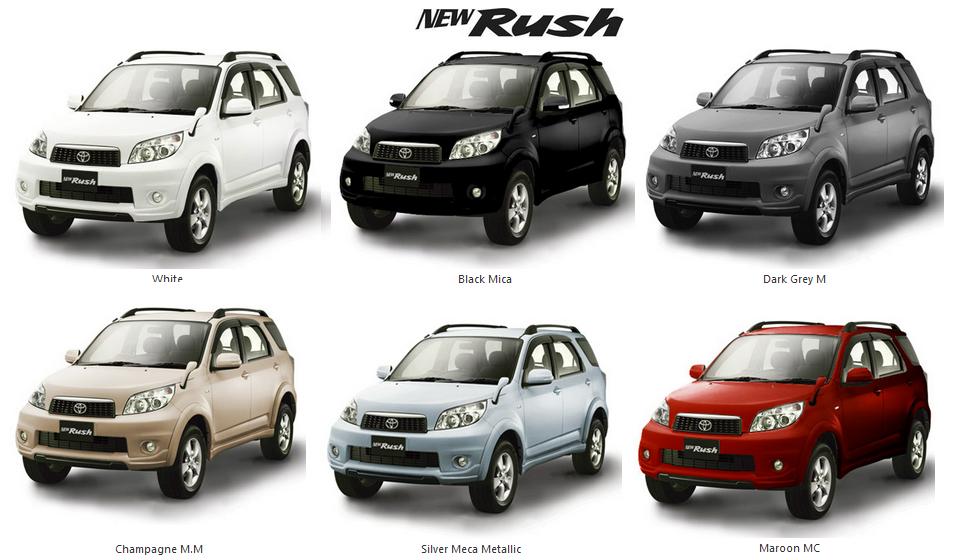 Harga Toyota Rush 2015