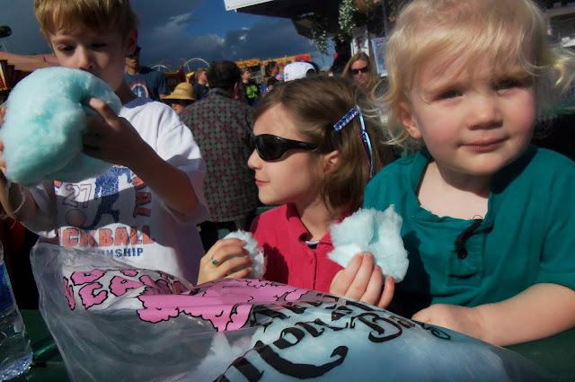 Alaska State Fair: cotton candy