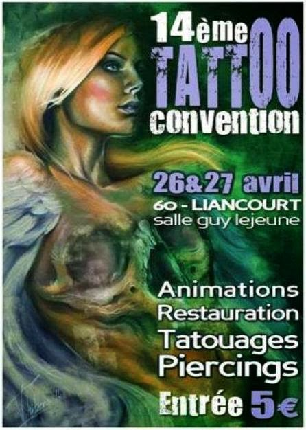 La Louvière Tattoo Convention May 2016 - Convention Tatouage Belgique