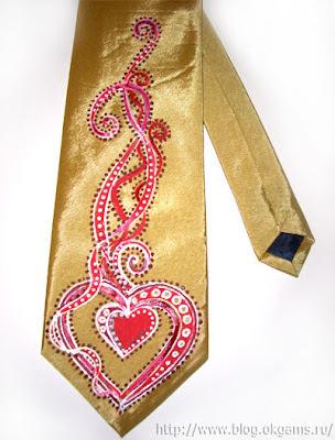 Стильный галстук Любимому