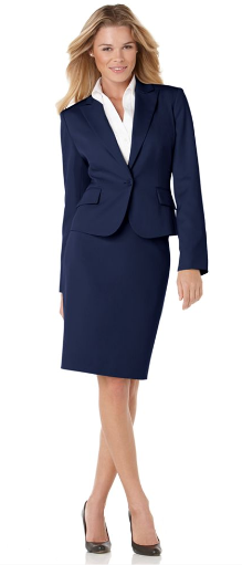 Elegant Click To Enlarge Navy Blue Suit Jacket Womens Suits At Pinstripe