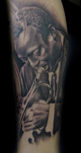 Miles Davis Tattoo