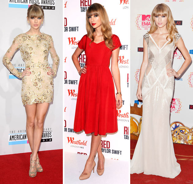 Taylor Swift  2Taylor Swift Fashion Style 2012