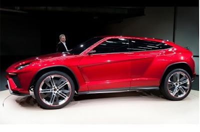 Lamborghini SUV - Urus 4