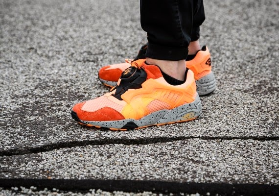"Puma Disc Blaze Mesh Revolution ""Fluro Orange"""