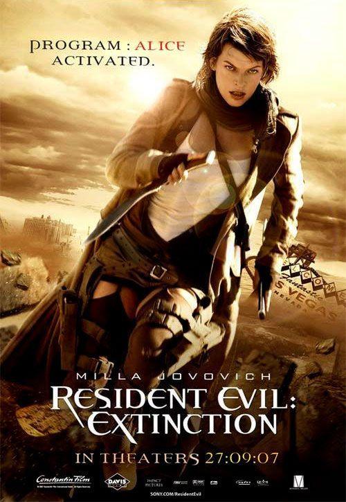 Resident Evil Extinction RESIDENT EVIL: EXTINCT...