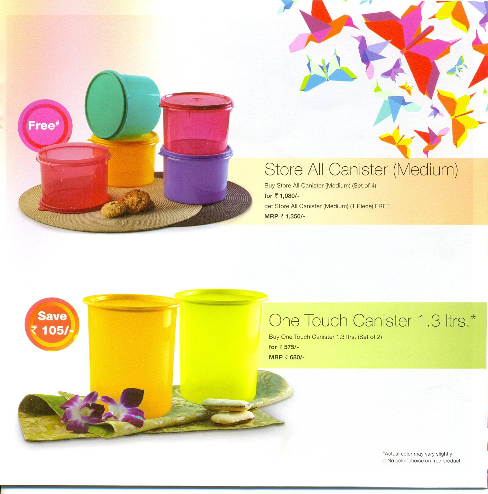 Tupperware Products India Flyer August