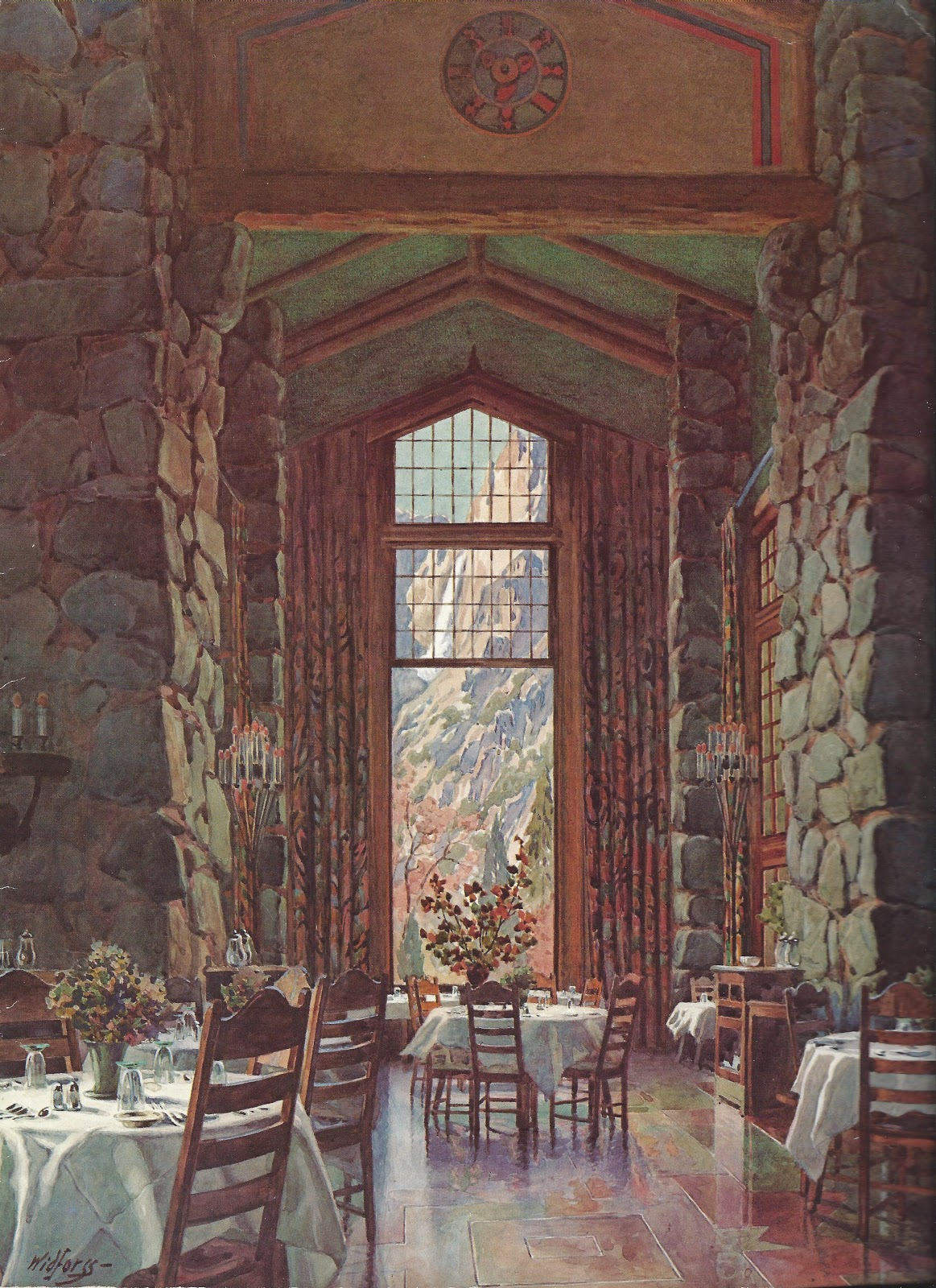 Chris suhr 39 s menu collection ahwahnee hotel yosemite for Design hotel yosemite