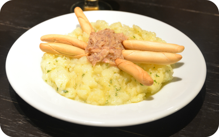 Patatas aliñás
