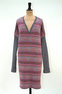 jaquard knit dress