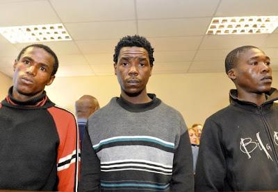 Trompsburg murders - Alleged killers in court