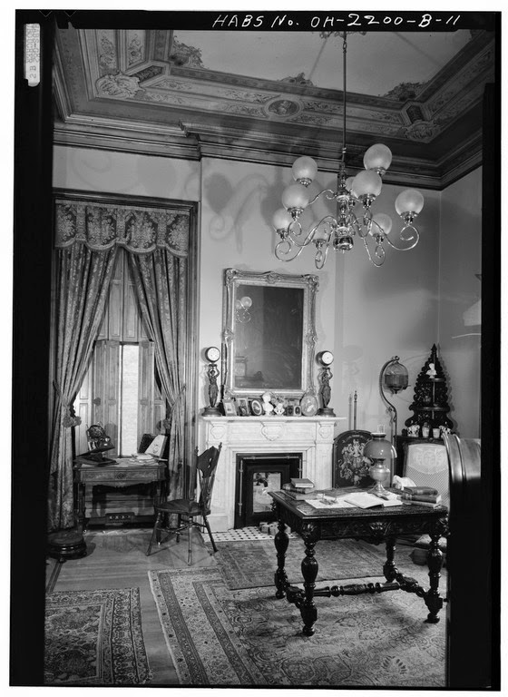There is an extensive series of interior images in color here  which were  taken by Alice Weston who documented many of Cincinnati s fine homes. The Picturesque Style  Italianate Architecture  The John Hauck