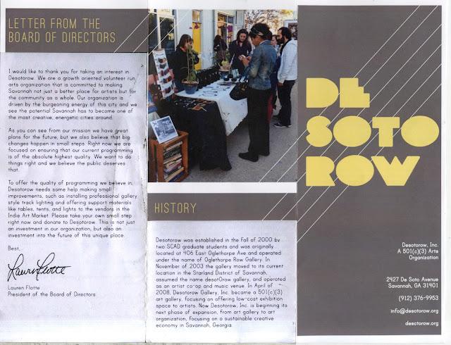 Desotorow Inc Pamplet