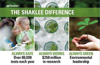 kenapa saya perlu memilih shaklee