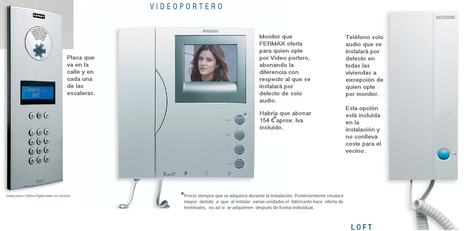 Residencial roma sustituci n porteros autom ticos - Telefono portero automatico ...