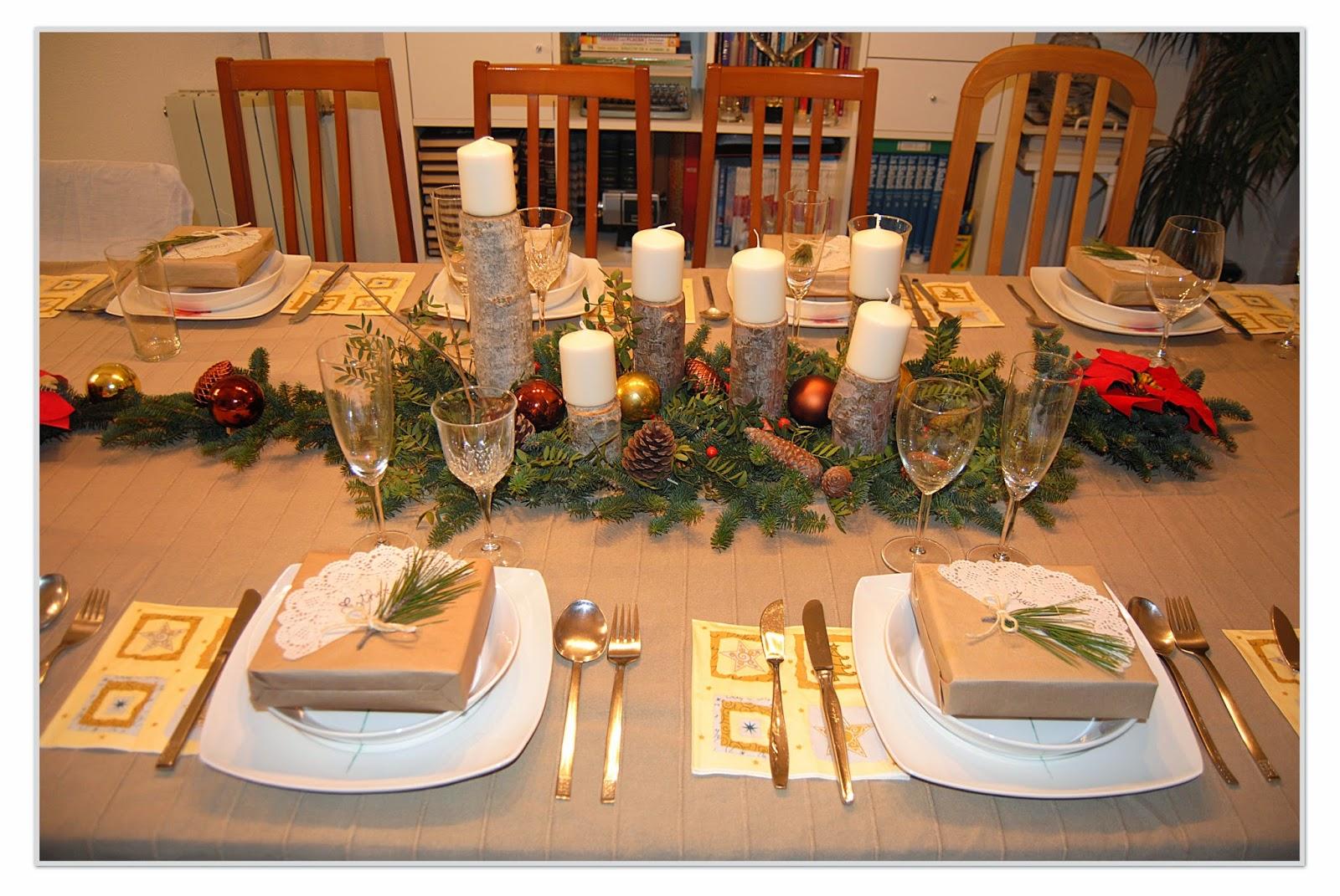 Las manualidades de sharon centro de mesa navide o - Centros de mesa navidenos manualidades ...