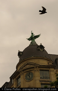 Rooftop near Gare de Paris Saint-Lazare, photo by Ciana Pullen