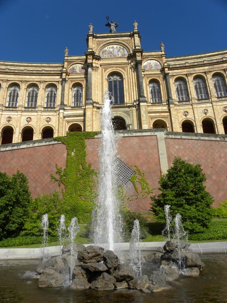 Maximilianeum in Munich struck me 78