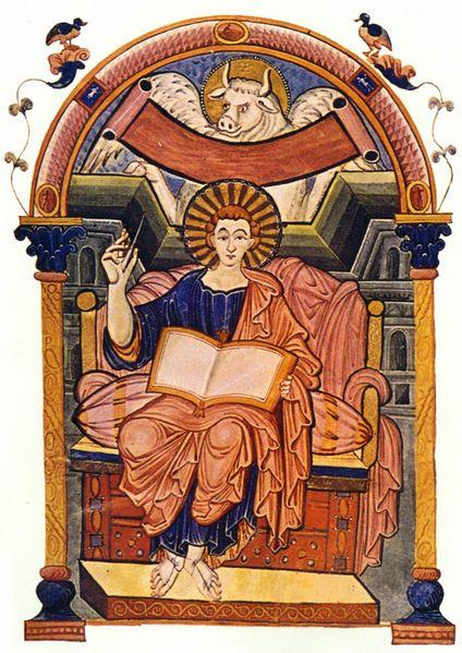 art history group carolingian manuscript art part two. Black Bedroom Furniture Sets. Home Design Ideas