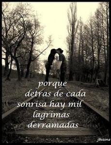 Xq en cada lagrima mil recuerdos hay de amor...