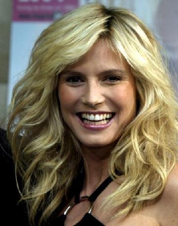 heidi klum hair color. Heidi Klum#39;s grade: 5