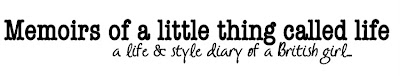 Memoirs of a little thing called life | Fashion and life in Leeds