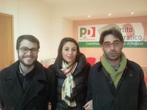 A Ragusa, con Fausto Raciti e Giacomo D'Arrigo