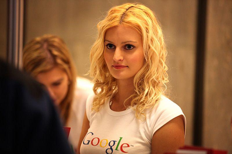 Značková slečna od Google