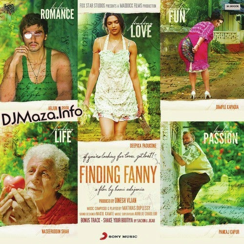 Finding Fanny (2014) Mp3 Songs - Free Download Bollywood Movie Songs.