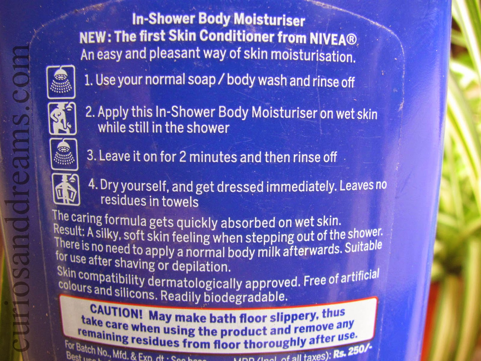 Nivea In-Shower Body Moisturiser Review